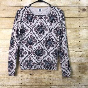 Old Navy Printed Sweater Size Small